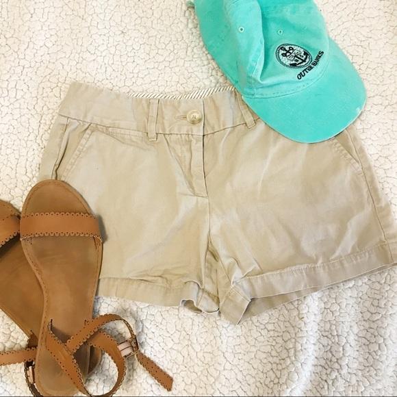 LOFT Pants - Ann Taylor Loft Khaki Chino Shorts